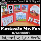 Fantastic Mr. Fox Interactive Novel Study (Notebook or Lap Book)