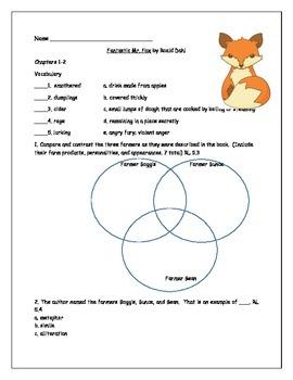 Fantastic Mr. Fox Literature Study
