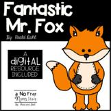 Fantastic Mr. Fox Novel Study and DIGITAL Resource