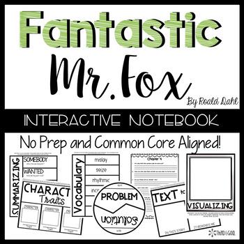 Fantastic Mr. Fox:  Reading Response Activities