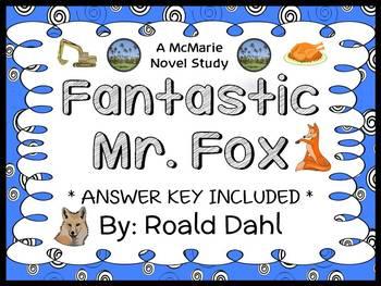 Fantastic Mr. Fox (Roald Dahl) Novel Study / Comprehension (35 pages)