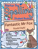 Fantastic Mr Fox Spelling Booklet UK/AUS Version