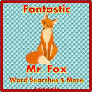 Fantastic Mr. Fox Word Searches & More