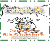 Fantastic Mr Fox Writing Activity: Character Speech Bubbles
