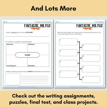 Fantastic Mr. Fox, an English Novel Study for Korean Students