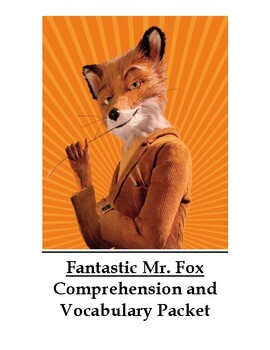 Fantastic Mr. Fox by Roald Dahl Guided Reading Unit Level P