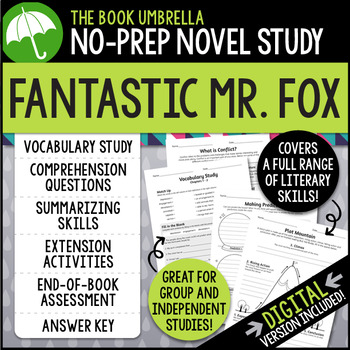 Fantastic mr fox teaching resources teachers pay teachers fantastic mr fox fantastic mr fox fandeluxe Image collections
