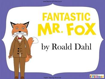 Fantastic Mr. Fox by Roald Dahl teaching unit