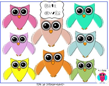 Fantastic Owl Clip Art for Commercial, or Personal Use