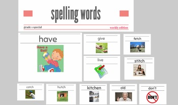 Fantastic Printer Friendly Tricky words with Amazing Zoom Animations