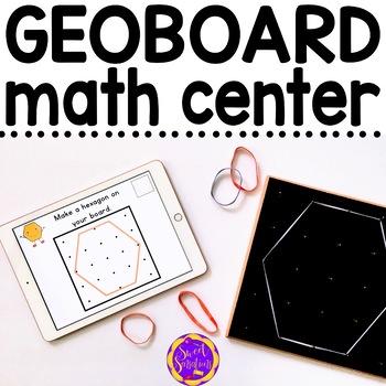 Using Geoboards to make 2D shapes K-2 K.G.B.5, 1.G.A.2, 2.G.A.1