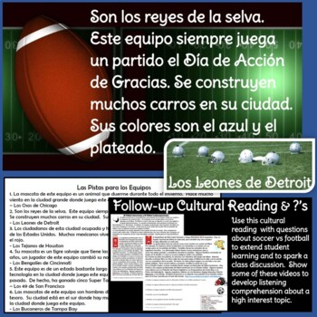 Fantastic Spanish NFL Pro Football Warm-Up Game