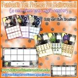 Fantastic Ten Frames for Halloween! {a one-time prep math center}