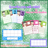Fantastic Ten Frames for Winter! {a one-time prep math center}