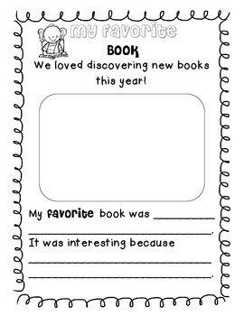 Fantastic Third Grade Favorites (Memory Book)