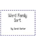 Fantastic Word Sorting Centers!