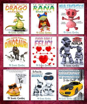 Fantastica Collezione #1: Nove Storie Prima di Dormire per Bambini (3-6 Anni)