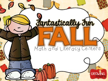 Fantastically Fun FALL! {Math and Literacy Centers}