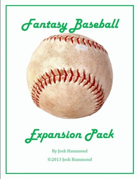 Fantasy Baseball (by Josh Hammond) Expansion Pack