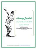 Fantasy Baseball by Josh Hammond