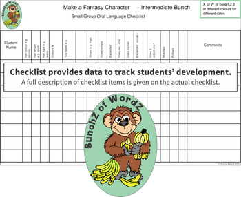 Fantasy Character Extension Pack: Intermediate Vocab Heroes Games