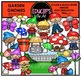 Fantasy Clip Art Mega Bundle  {Educlips Clipart}