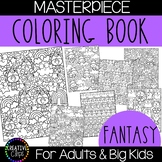 Fantasy Coloring Pages: Masterpieces {Made by Creative Clips}