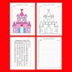 Fantasy/Valentine's Day Coordinate Graphing Picture: Castle