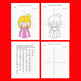 Fantasy/Valentine's Day Coordinate Graphing Picture: Princess