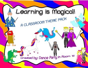 Fantasy (Dragons, Unicorns, Knights, etc.)  Classroom Themed Decor