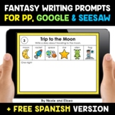 Fantasy FIction Writing Prompts for Google and Seesaw - Di