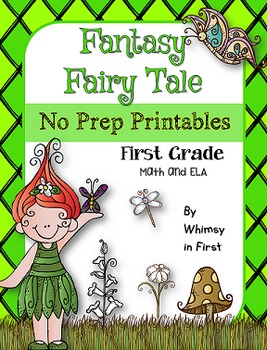 fantasy fairy tale no prep printables first grade by ms k teaches. Black Bedroom Furniture Sets. Home Design Ideas