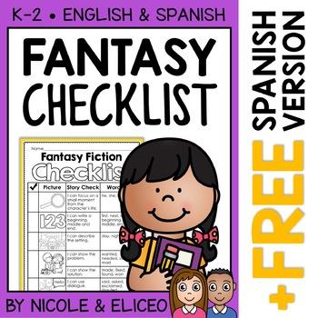 Fantasy Fiction Writing Checklist