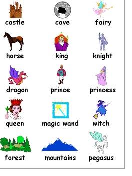 Fantasy Writing Folder