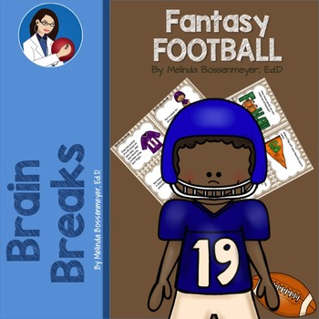 Fantasy Football Brain Break Cards