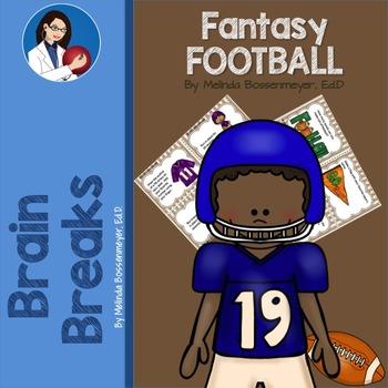 Fantasy Football Brain Break Cards