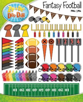 Fantasy Football Clipart {Zip-A-Dee-Doo-Dah Designs}