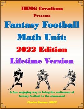 Fantasy Football Math Unit: 2016 Edition (Common Core)