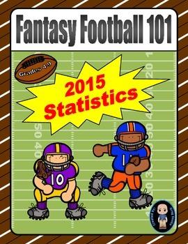 Fantasy Football 101 (2015 Statistics)