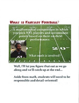 Fantasy Football in the Classroom - Shortened Version!