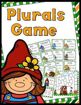 Plurals Game - 36 Task Cards!
