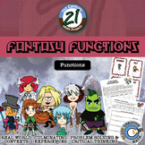 Fantasy Functions -- Functions & Operations Card Game - Math Project