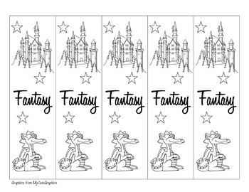 Fantasy Genre Bookmark