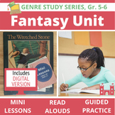 Fantasy Genre Study Unit BUNDLE: 20 Lessons, 19 Read Alouds, 10 Activities