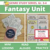 Fantasy Genre Study Unit BUNDLE: 20 Lessons, 21 Read Alouds, 17 Extensions