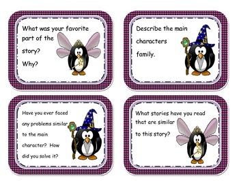 Fantasy Genre Task Cards and More