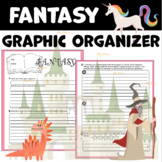 Fantasy Graphic Organizer for Reading