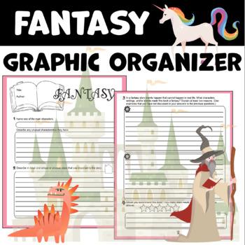 Fantasy Graphic Organizer for Reading