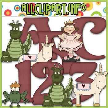 Fantasy Lettering Delights Alphas - Cheryl Seslar Clip Art