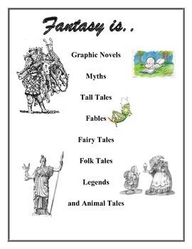 Fantasy Literature Unit